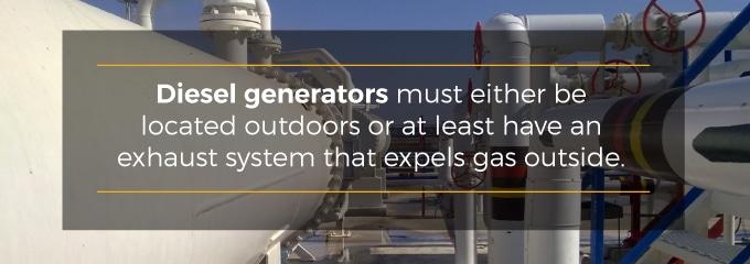 Difference Between Natural Gas & Diesel Generators
