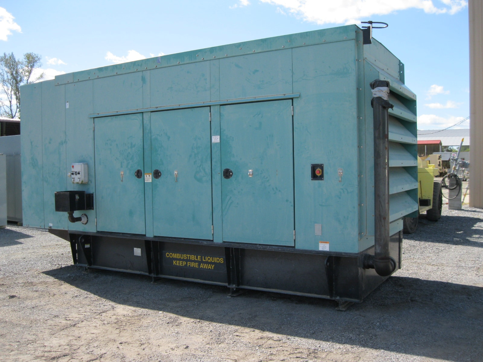 Used 500 kW Cummins DFEK Diesel Generator – EPA Tier 2 rated – SOLD!