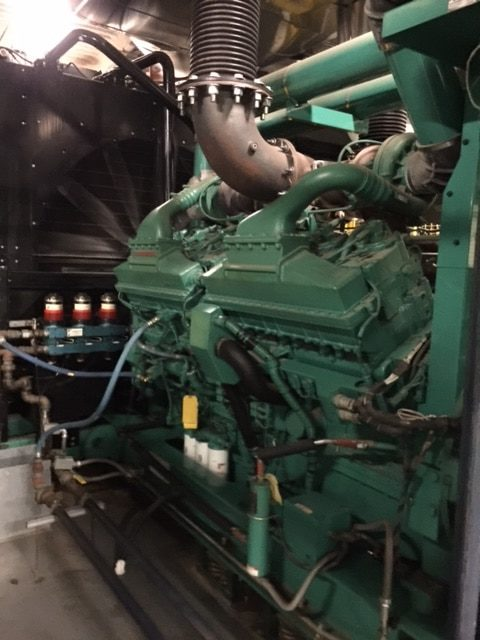 Used 2000 kW Cummins DQKAB Generator – EPA Tier 2 Rated