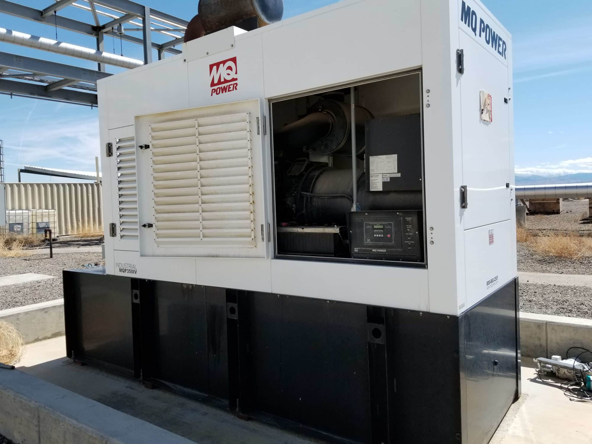 Used 350 kW Multiquip Diesel Generator – EPA Tier 3 – SOLD!
