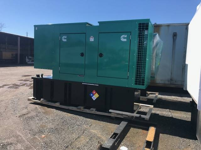 New 200 kW Cummins DSGAE Diesel Generator – EPA Tier 3 – 3 Coming in!