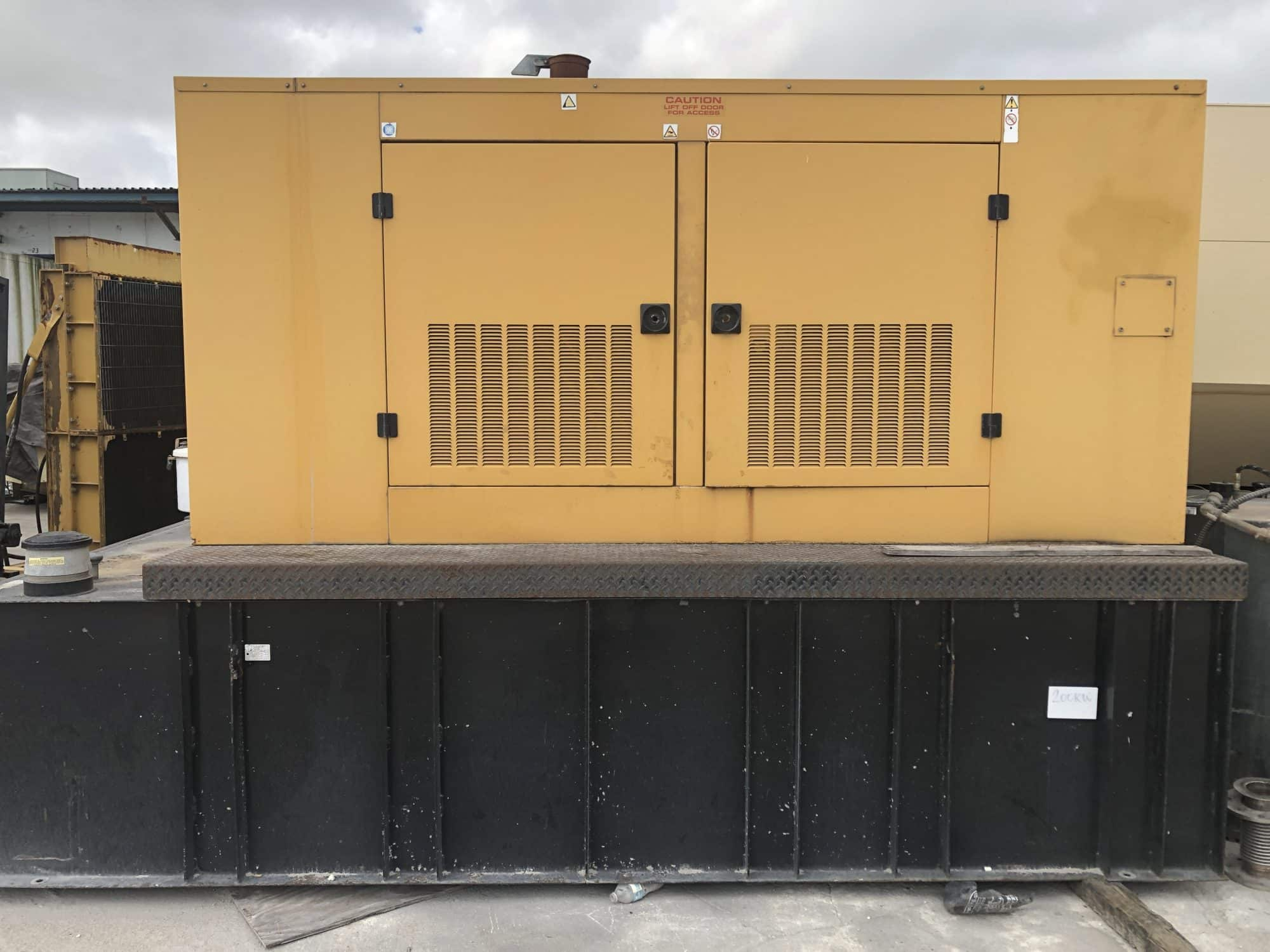 Used 200 kW Olympian D200P3 / Perkins sel Generator ... D P Olympian Generator Wiring Diagram on
