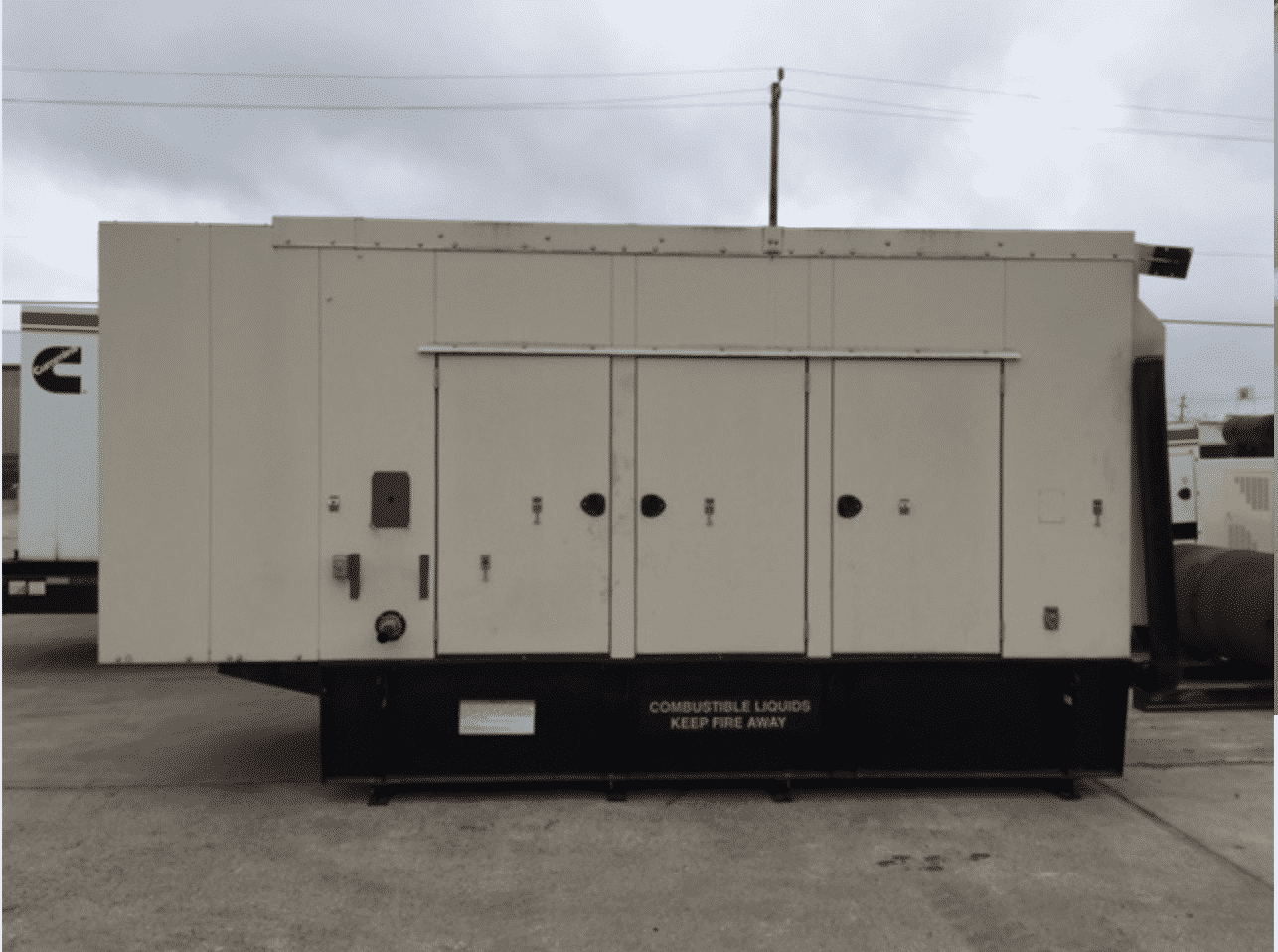 Used 400 kW Cummins DFEH Diesel Generator – EPA Tier 2 Rated- SALE PENDING