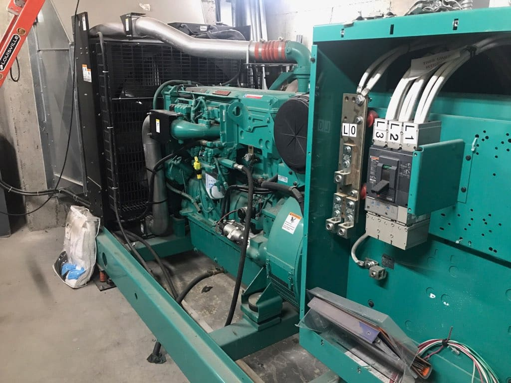 Used 400 kW Cummins DFEH Diesel Generator – EPA Tier 2 Rated