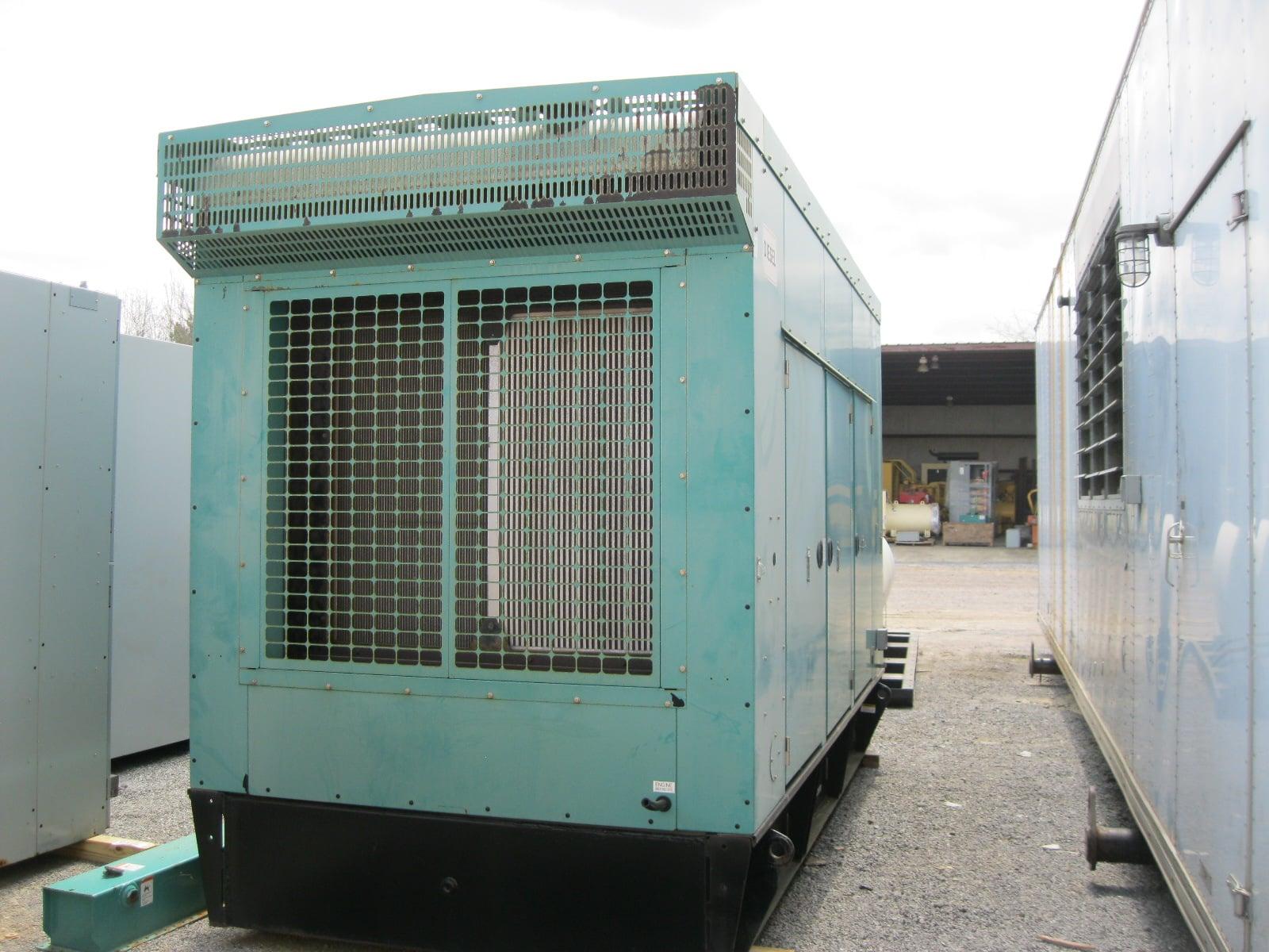 Used 350 kW Cummins DFEG Diesel Generator – EPA Tier 2