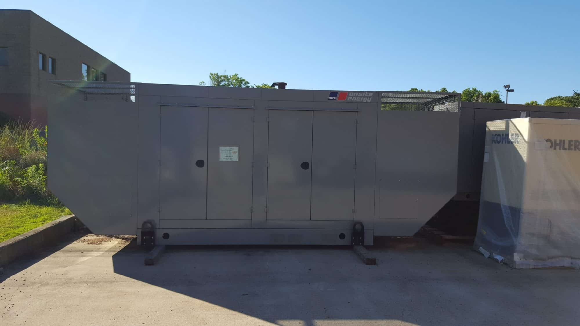 Used 200kW MTU Natural Gas Generator – EPA Certified