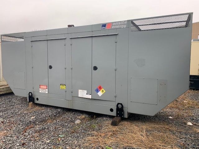 Used 200 kW MTU Natural Gas Generator – EPA Certified