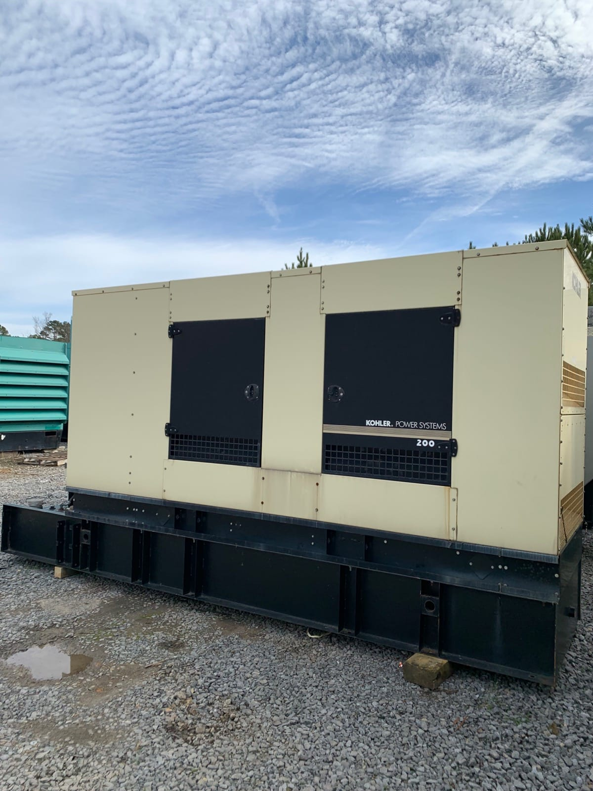 Used 200 kW Kohler 200REOZJE Diesel Generator – EPA Tier 3 – SALE PENDING!