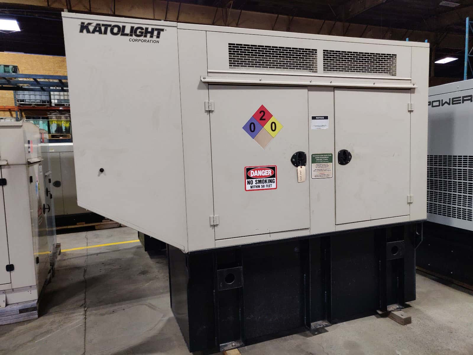 Used 60 kW Katolight/John Deere Diesel Generator – EPA Tier 2 Rated – JUST IN!