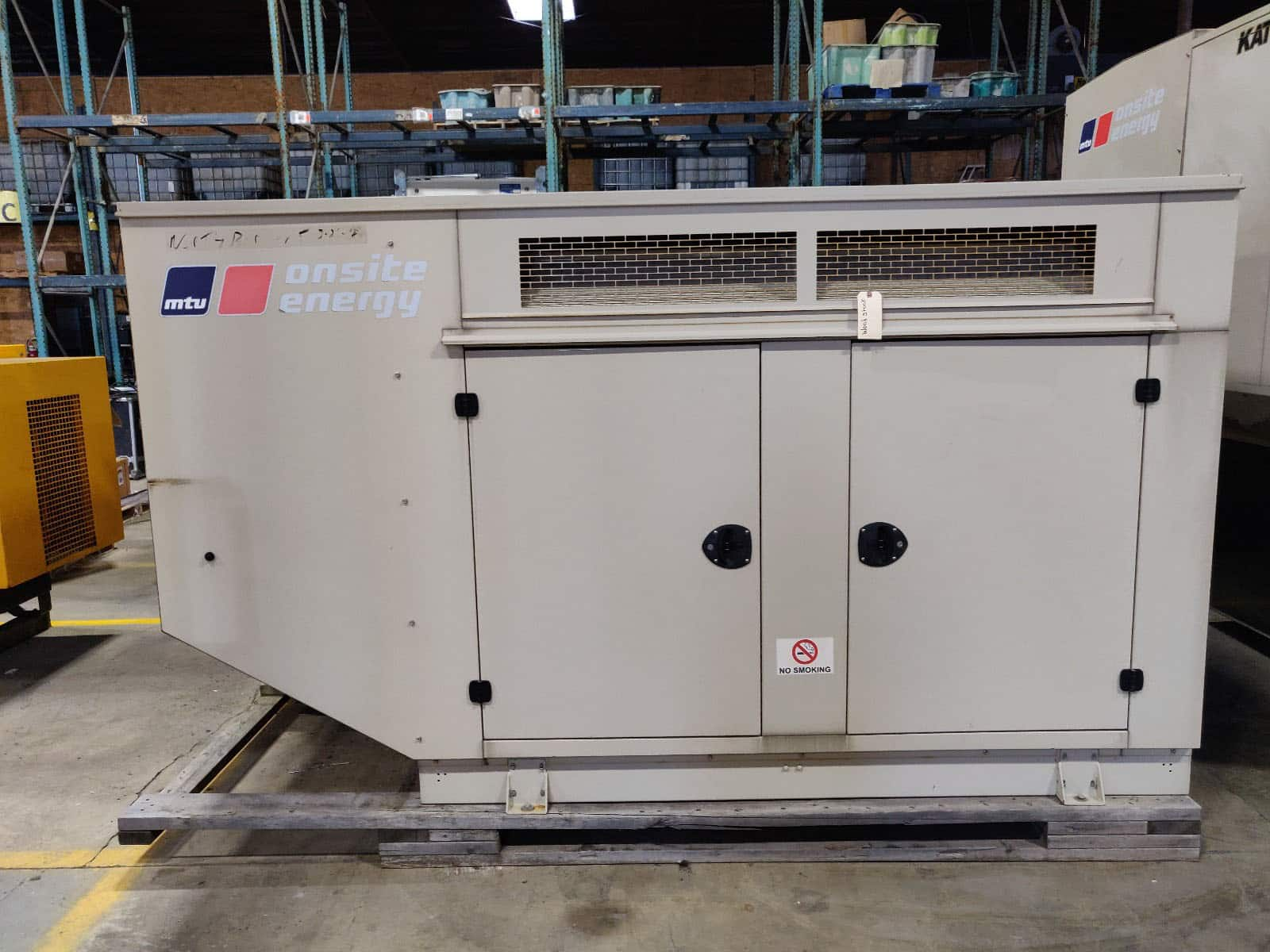 Used 60 kW MTU Natural Gas Generator