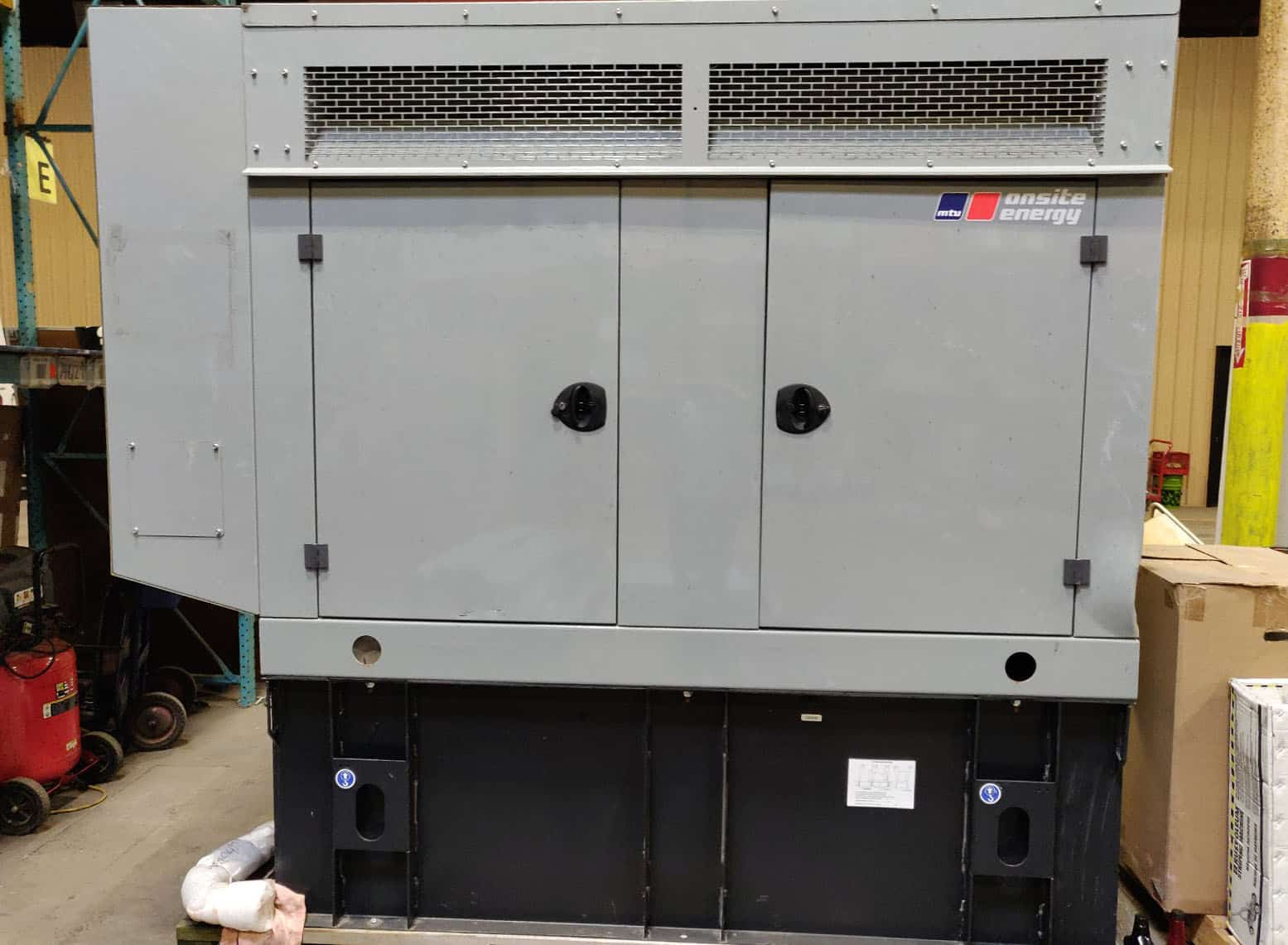 Used 50 kW MTU Diesel Generator – EPA Tier 3 Rated