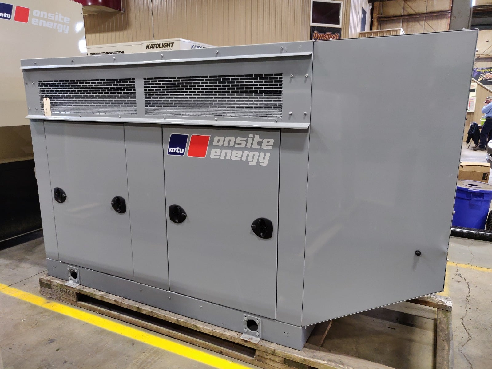 New 30 kW MTU Natural Gas Generator