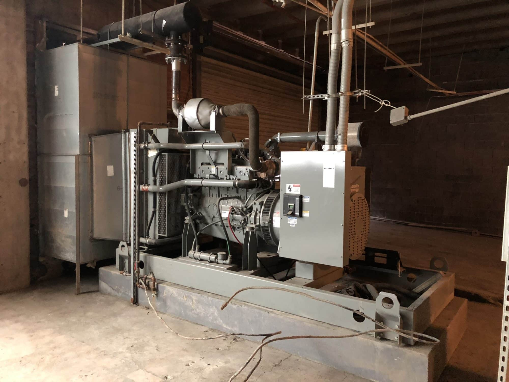 Used 200 kW MTU / Doosan Natural Gas Generator – EPA Certified – Coming in!