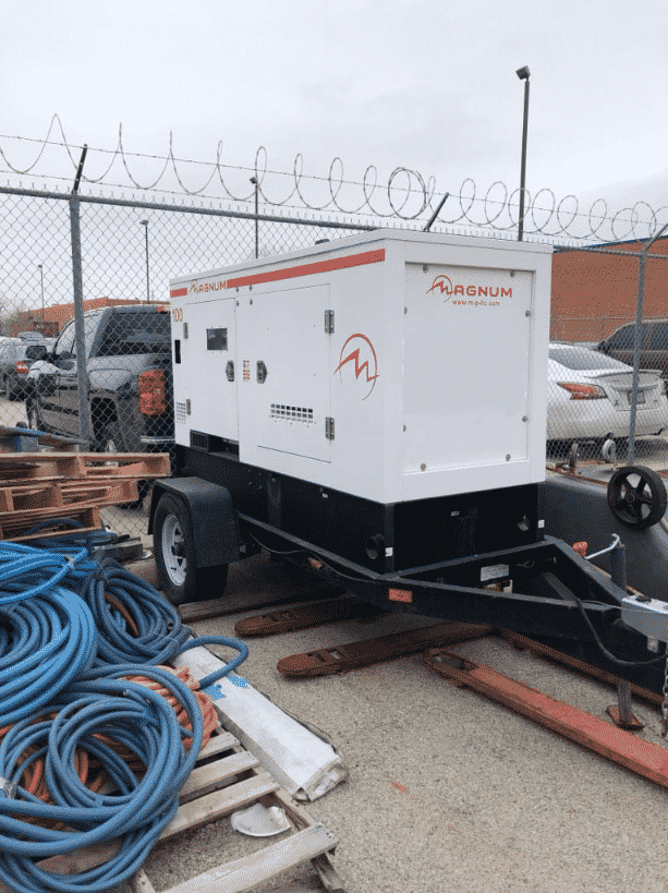 Used 100 kW Magnum Diesel Generator – ON RENT