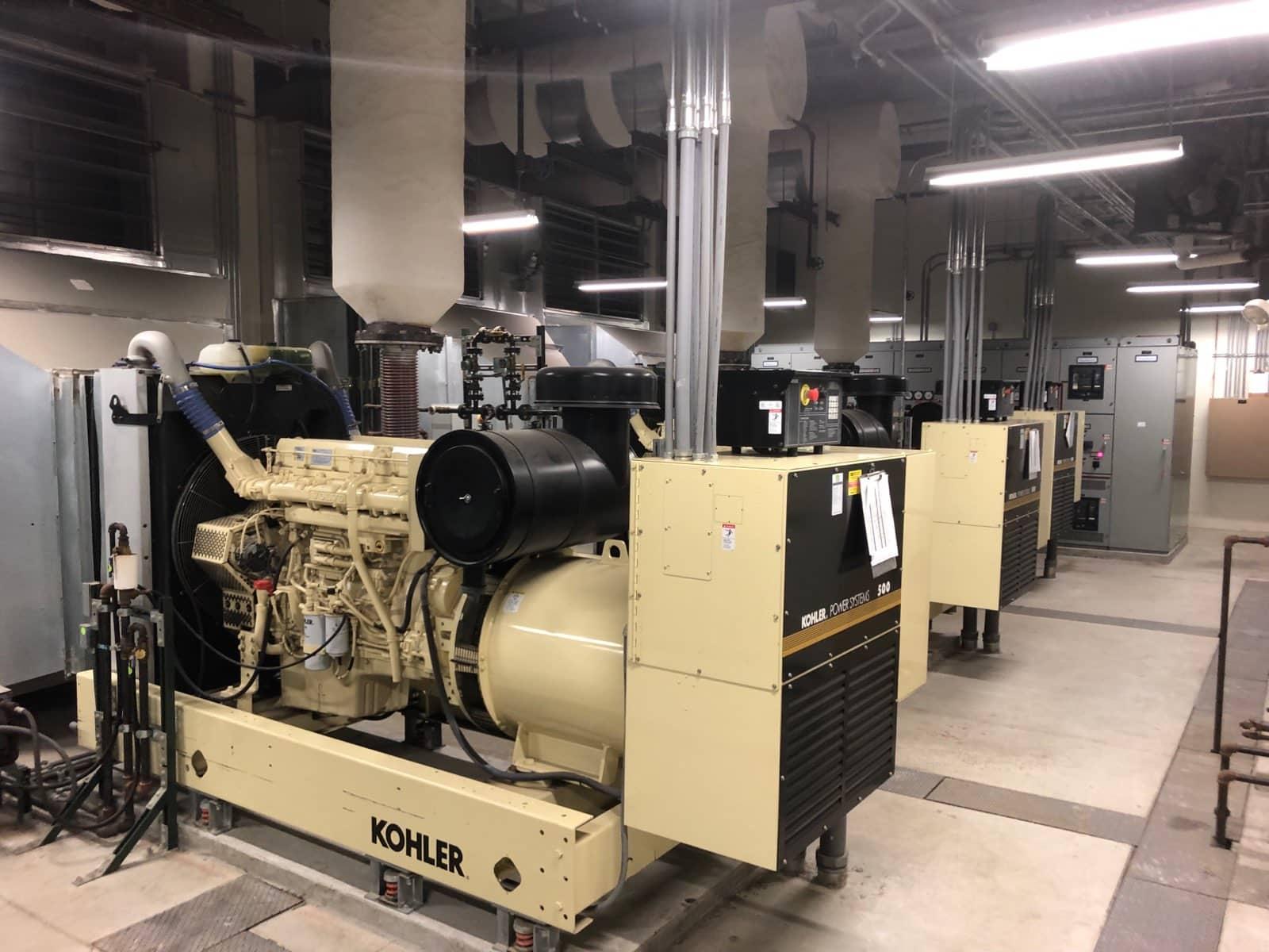 Used 500 kW Kohler 500REOZVB Diesel Generator – EPA Tier 2
