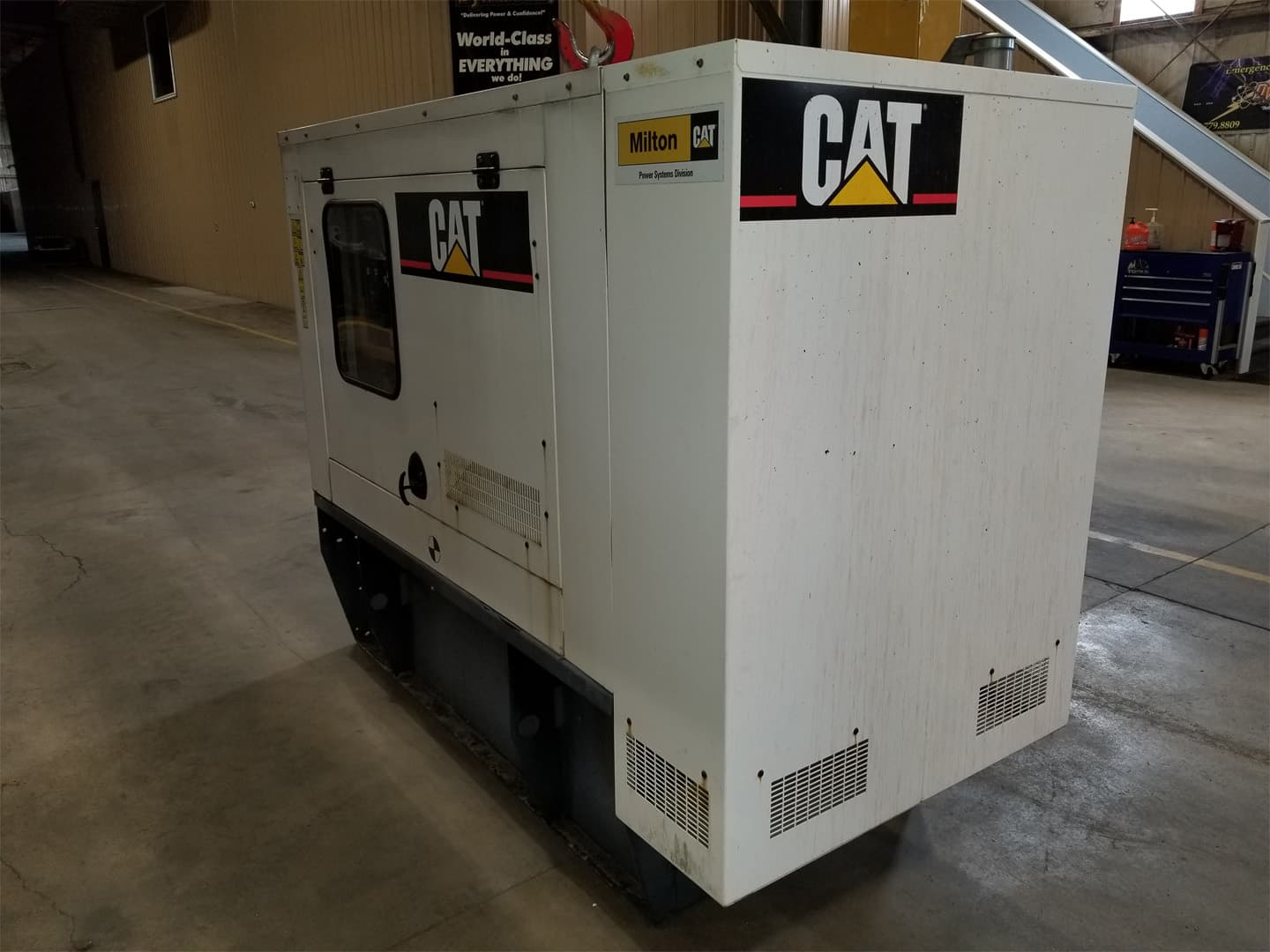 Used 60 kW CAT D60-4 Diesel Generator – EPA Tier 3 – SOLD