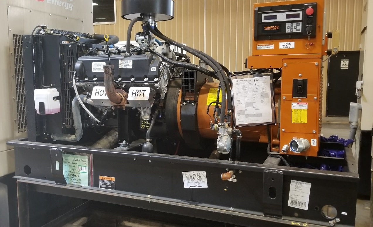 Used 60 kW Generac SG060 Natural Gas Generator – EPA Certified