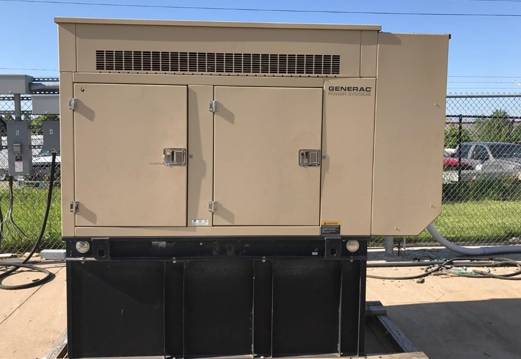 Used 30 kW Generac SD030 Diesel Generator