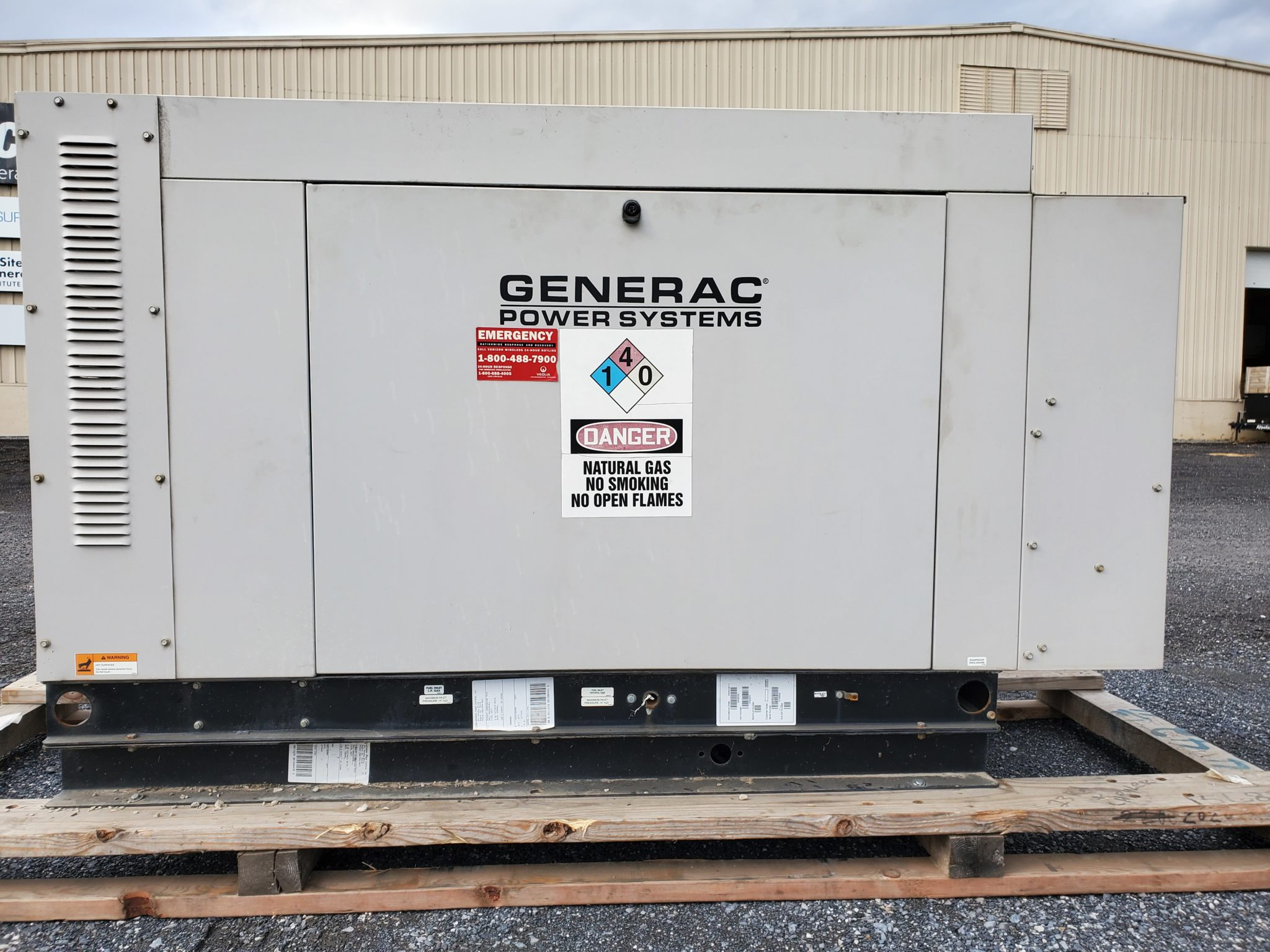 Used 30 kW Generac SG030 Natural Gas Generator – SOLD!