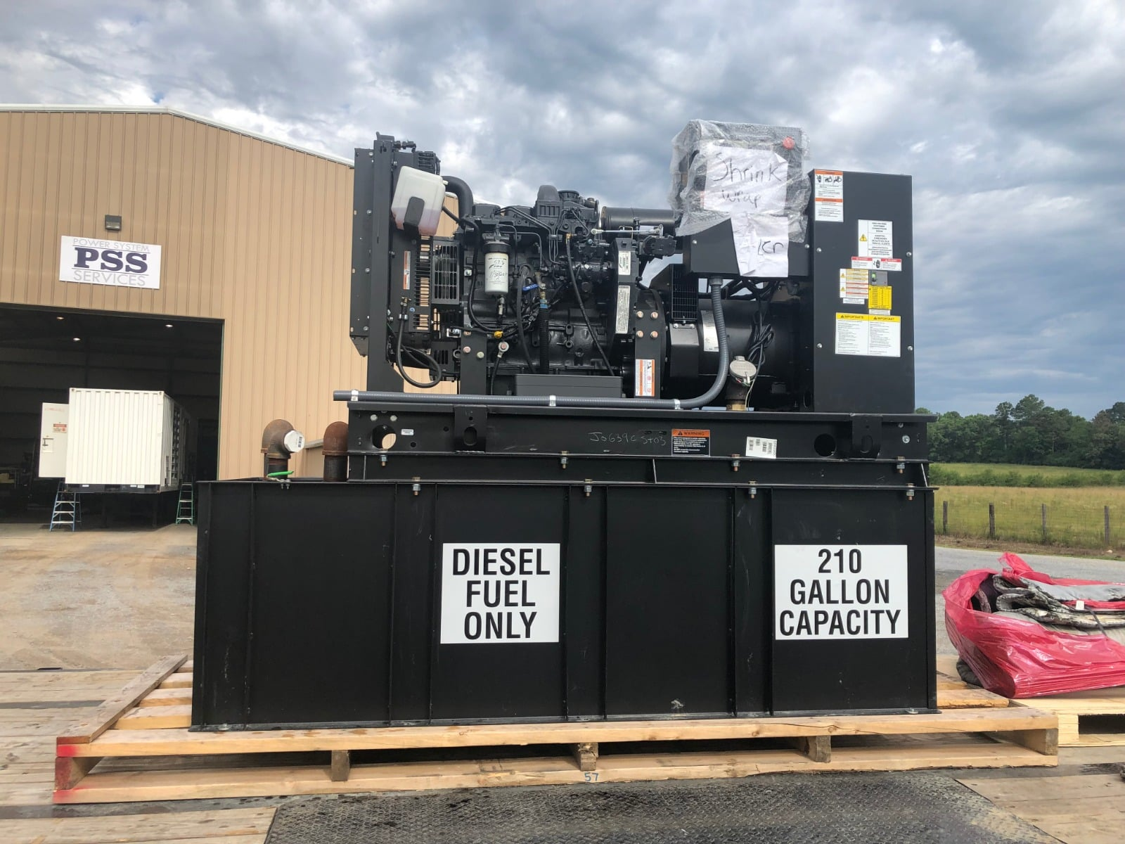 Used 50 kW Generac SD050 Diesel Generator