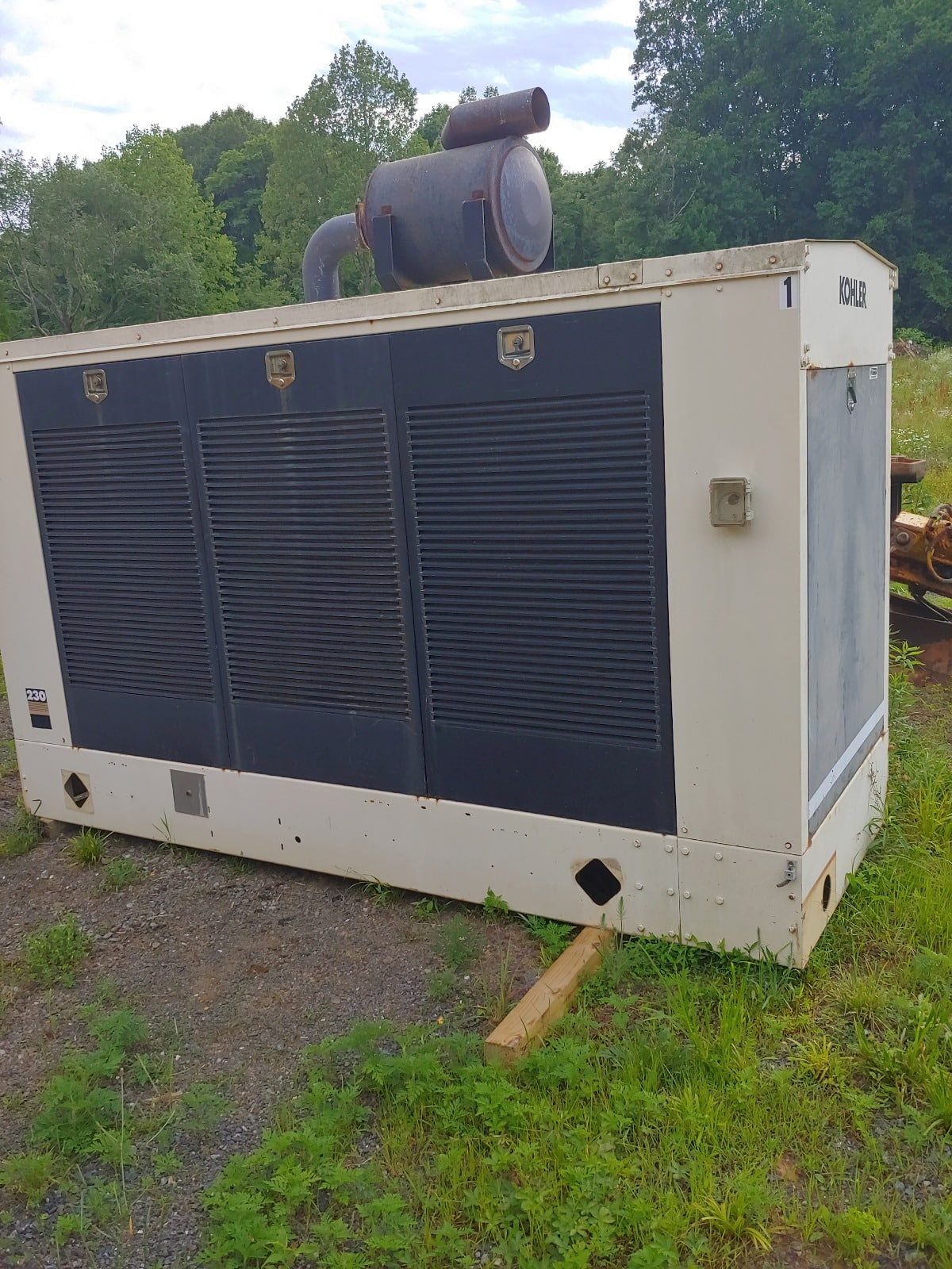 Used 236 kW Kohler 230RZD Natural Gas Generator