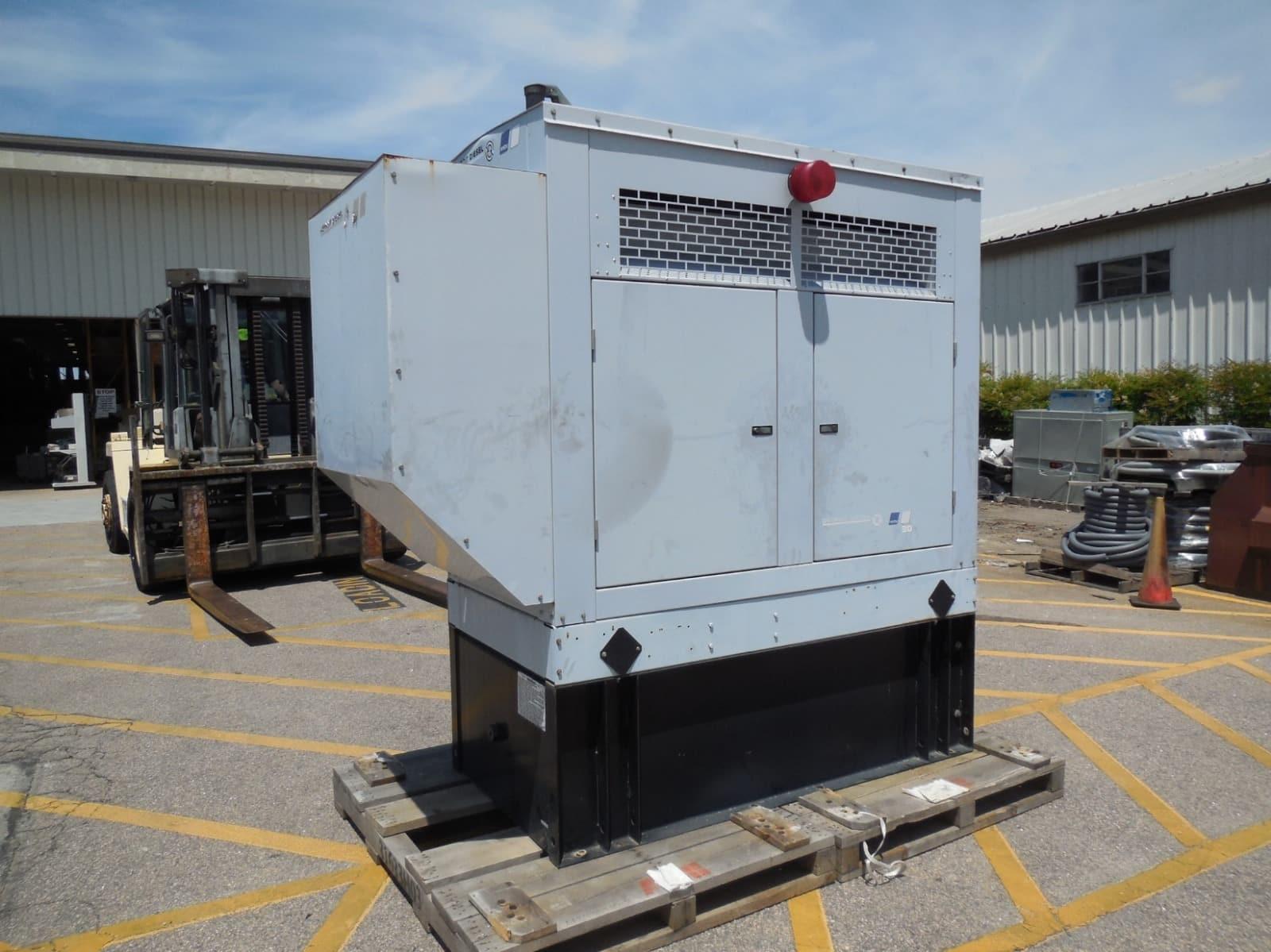 Used 35 kW Detroit Diesel 30DSEJB Diesel Generator