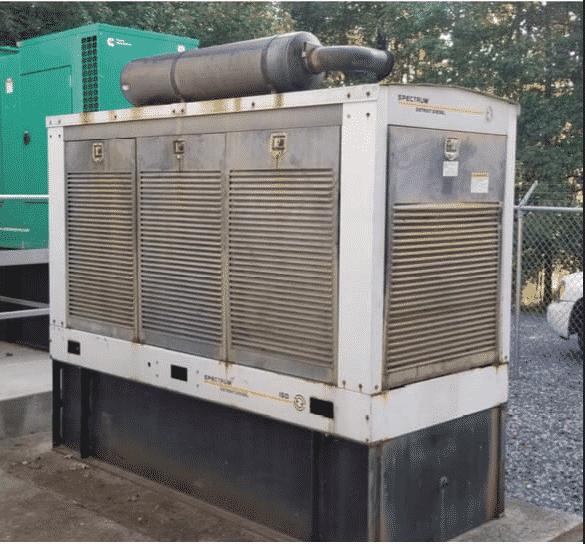 Used 180 kW Detroit Diesel 150DSEJ Diesel Generator