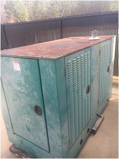 Used 75 kW Cummins GGHF Natural Gas Generator