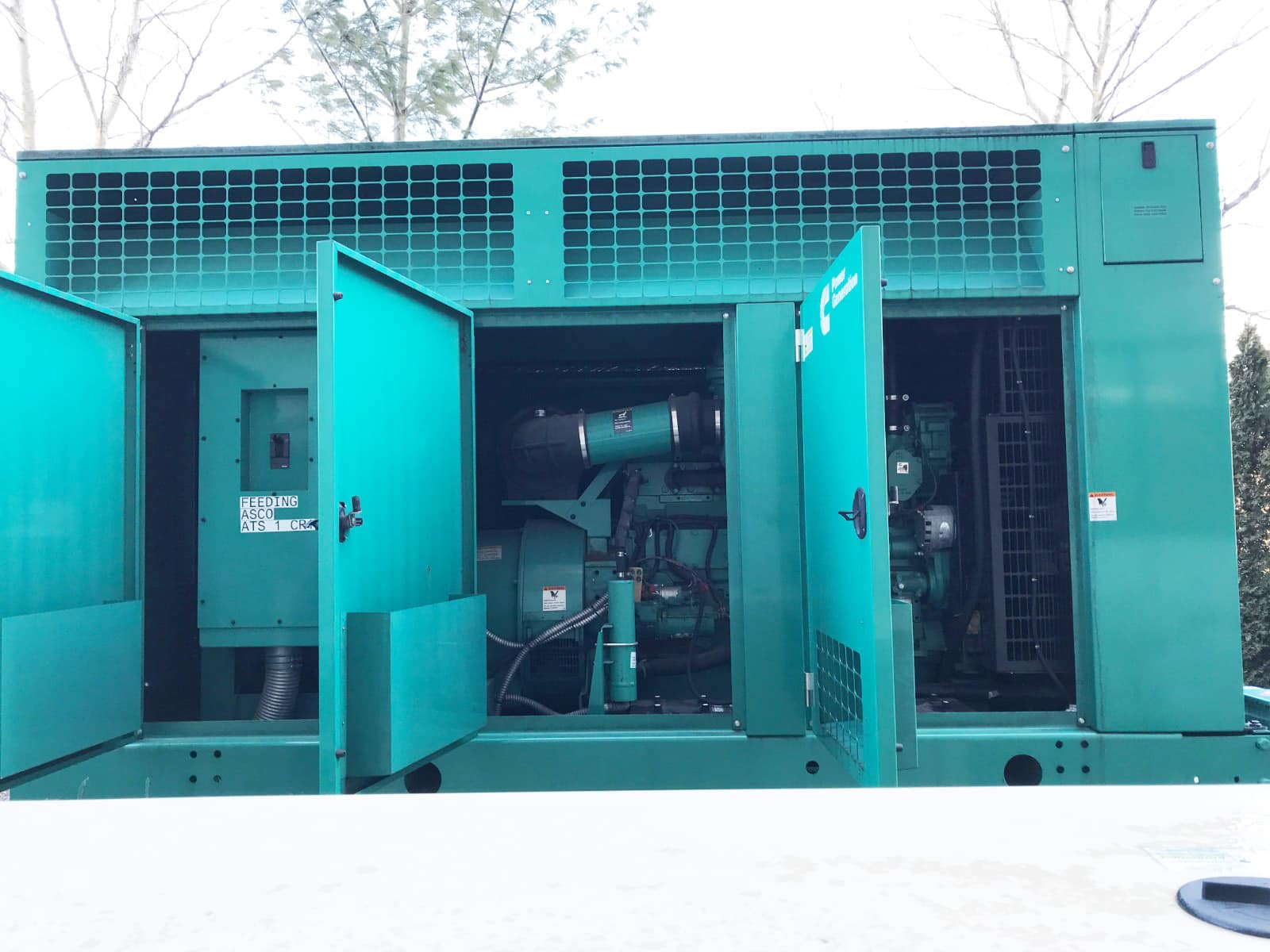 Used 500 kW Cummins DFEK Diesel Generator – EPA Tier 2 – JUST IN!