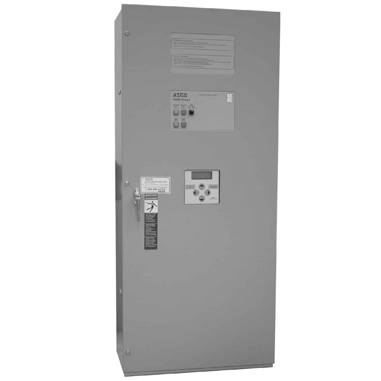 ASCO 7000 Series 600 Amp Automatic Transfer Switch