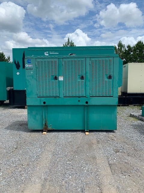 Used 200 kW Cummins DGFC Diesel Generator – JUST IN!
