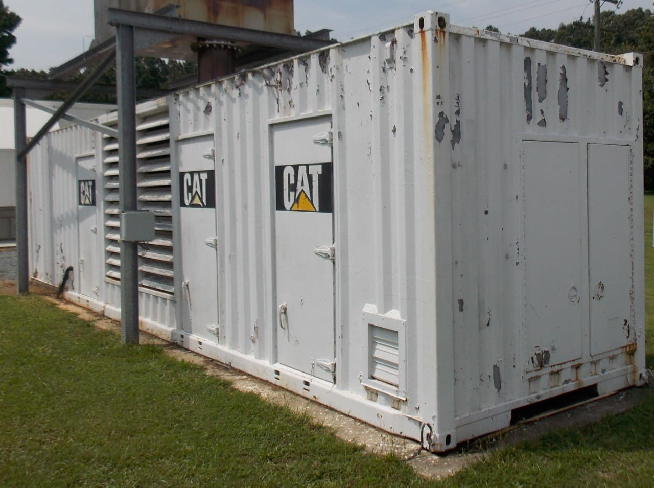 Used 1600 kW CAT 3516 PRIME Diesel Generator
