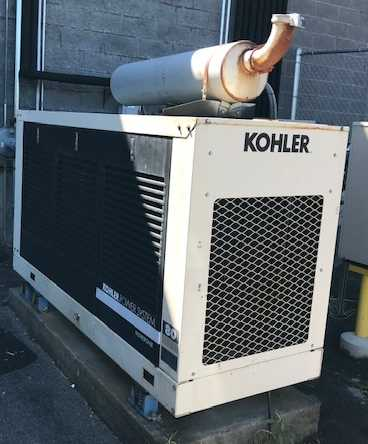 Used 80 kW Kohler 80RZ82 Natural Gas Generator – JUST IN!