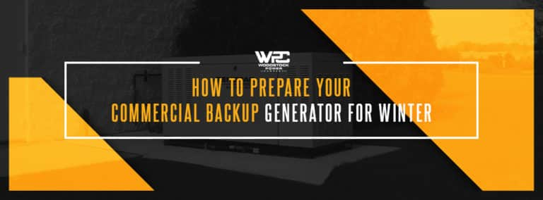 How to prepare Your Commercial Backup Generator for Winter