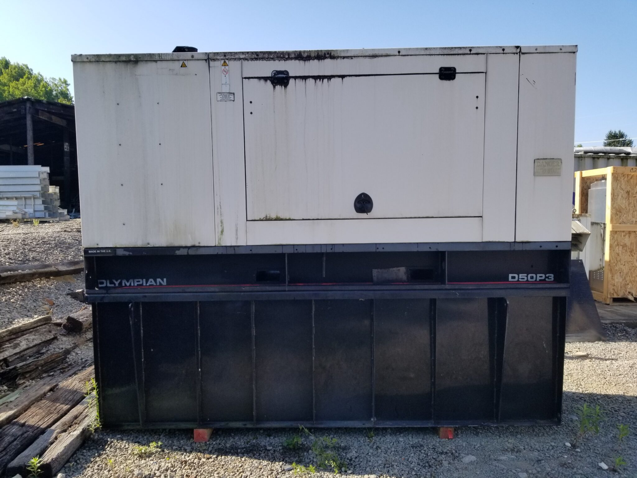 Used 50 kW Olympian D50P3 Diesel Generator – COMING IN!