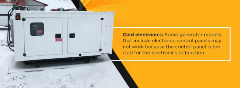 Why Your Commercial Generator May Not Start in the Winter