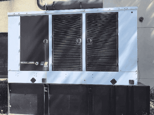 Used 250 kW Detroit Diesel 250DSED Diesel Generator – EPA Tier 3