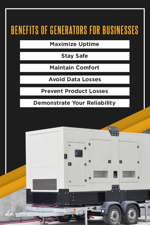 Benefits of Generators for Businesses