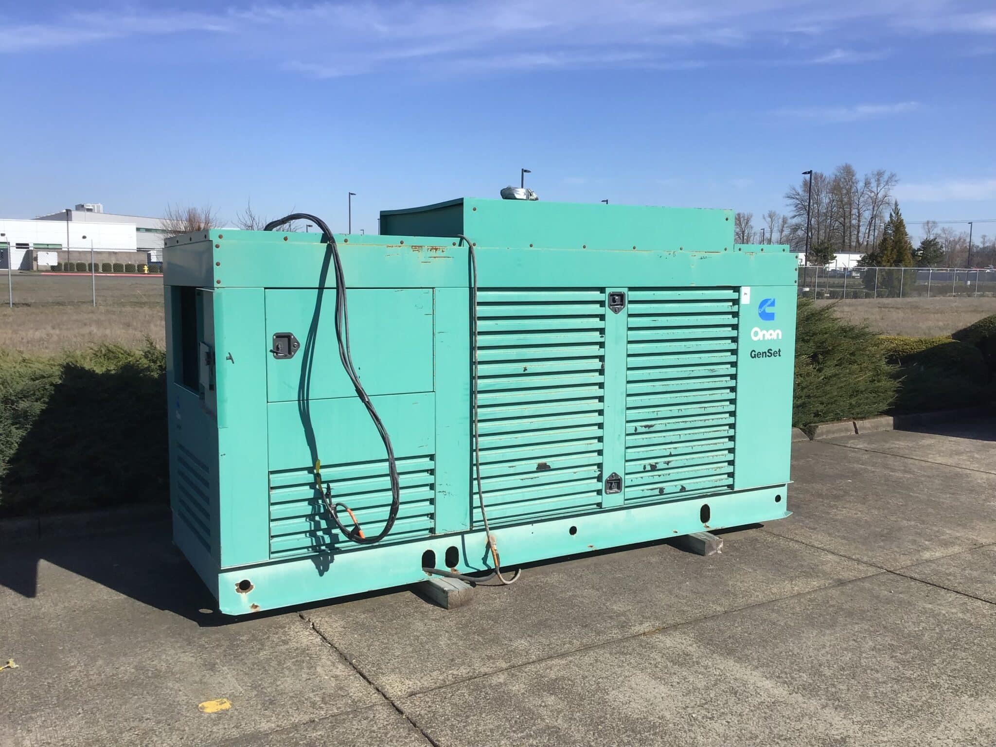 Used 350 kW Cummins DFCC Diesel Generator – COMING IN!