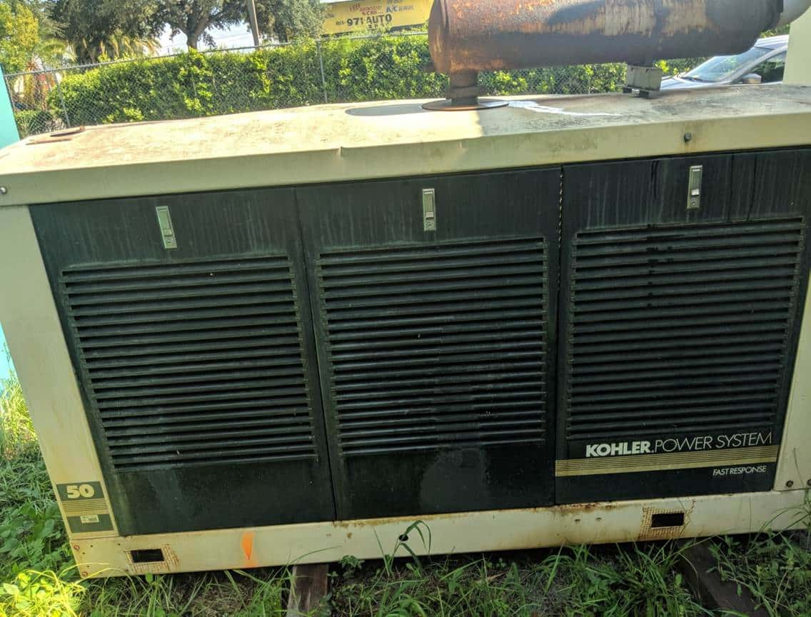 Used 55 kW Kohler 50RZ Natural Gas Generator – JUST IN!