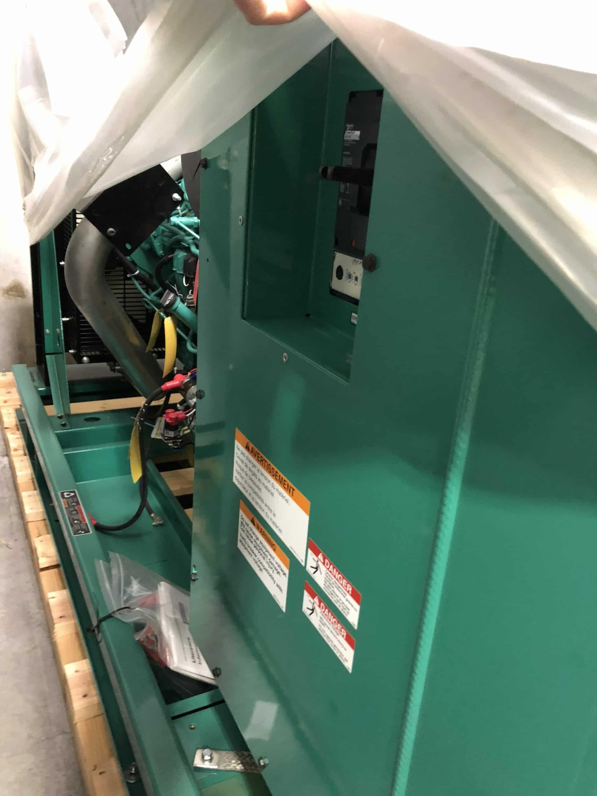 New 250 kW Cummins DQDAA Diesel Generator – EPA Tier 3