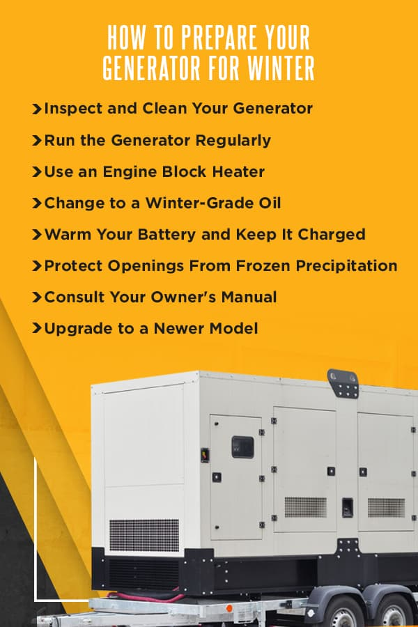 How to Prepare Your Generator For Winter