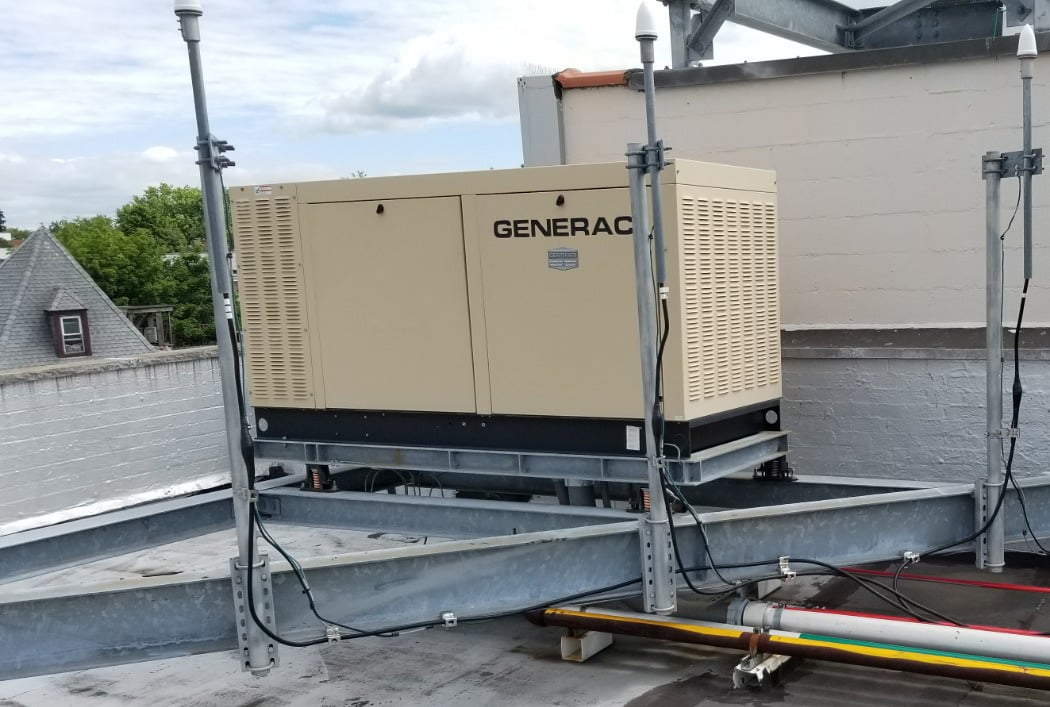 Used 70 kW Generac QT07068GNSNA Natural Gas Generator – EPA Certified