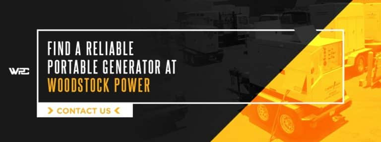Find a Reliable Portable Generator at Woodstock Power