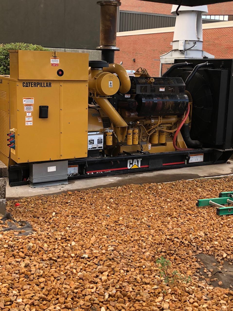 Used 750 KW Caterpillar 3412 Diesel Generator – SOLD!