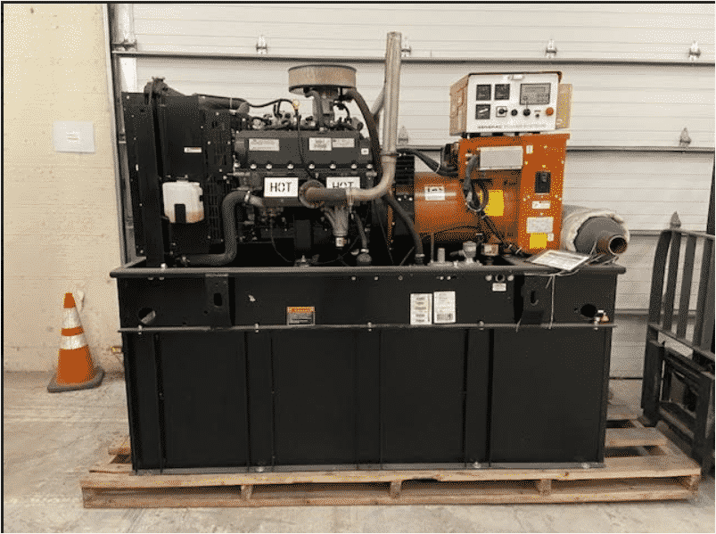 Used 60 kW Generac SG060 Natural Gas Generator
