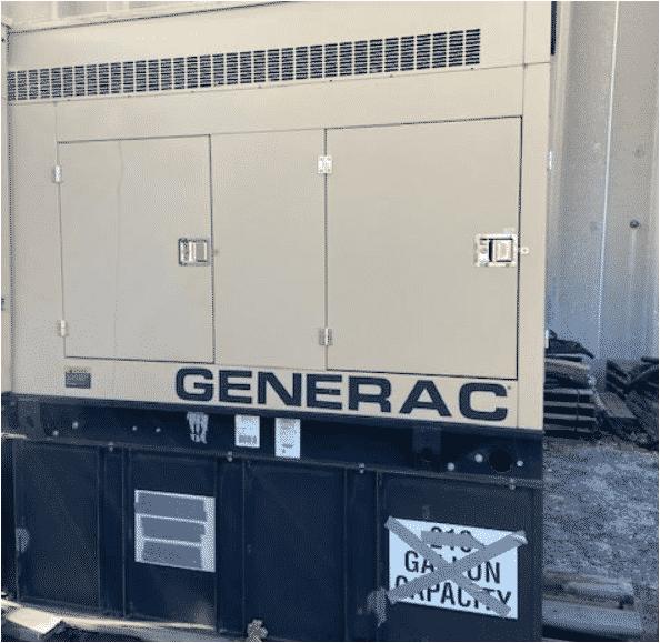 Used 60 kW Generac SD060 Diesel Generator