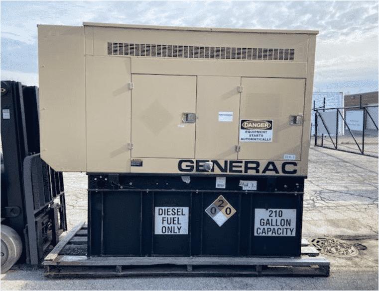 Used 60 kW Generac SD060 Diesel Generator – JUST IN!