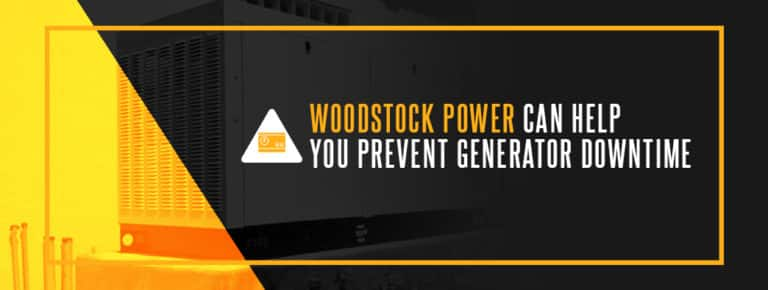 Woodstock Power Can Help You Prevent Generator Downtime