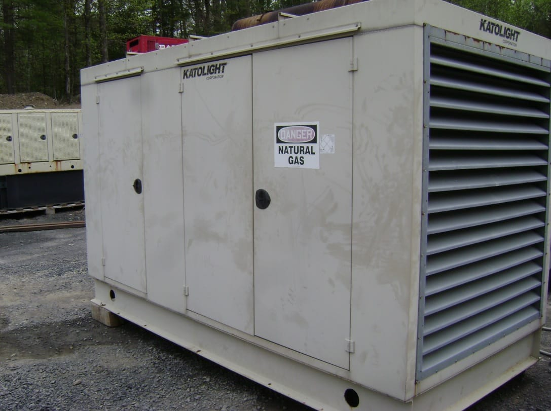 Used 255 kW Katolight N255FPX4 Natural Gas Generator
